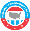 National Voter Registration Day 2020 @ Caldwell Lake George Library