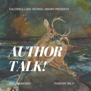 Author Talk! with Jess Hunsicker @ Zoom