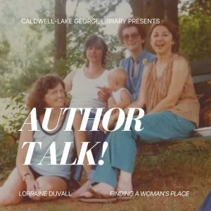 Author Talk! Finding a Woman's Place with Lorraine Duvall @ Zoom