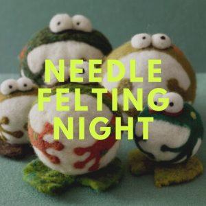 Needle Felting Art Night with Michele Niedermeyer @ Caldwell-Lake George Library