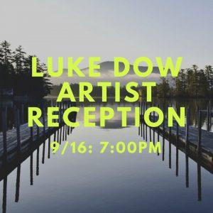Luke Dow Artist Reception @ Caldwell-Lake George Library