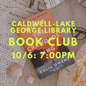 Caldwell-Lake George Library Book Club @ Caldwell-Lake George Library